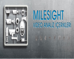 Milesight Dahili Video Analiz Sistemleri